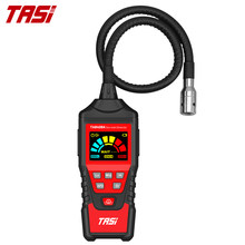 TASI TA8408AB Gas Leak Detector Combustible Flammable Natural Tester Gas Analyzer 9999 PPM 20% LEL Portable PPM Meter