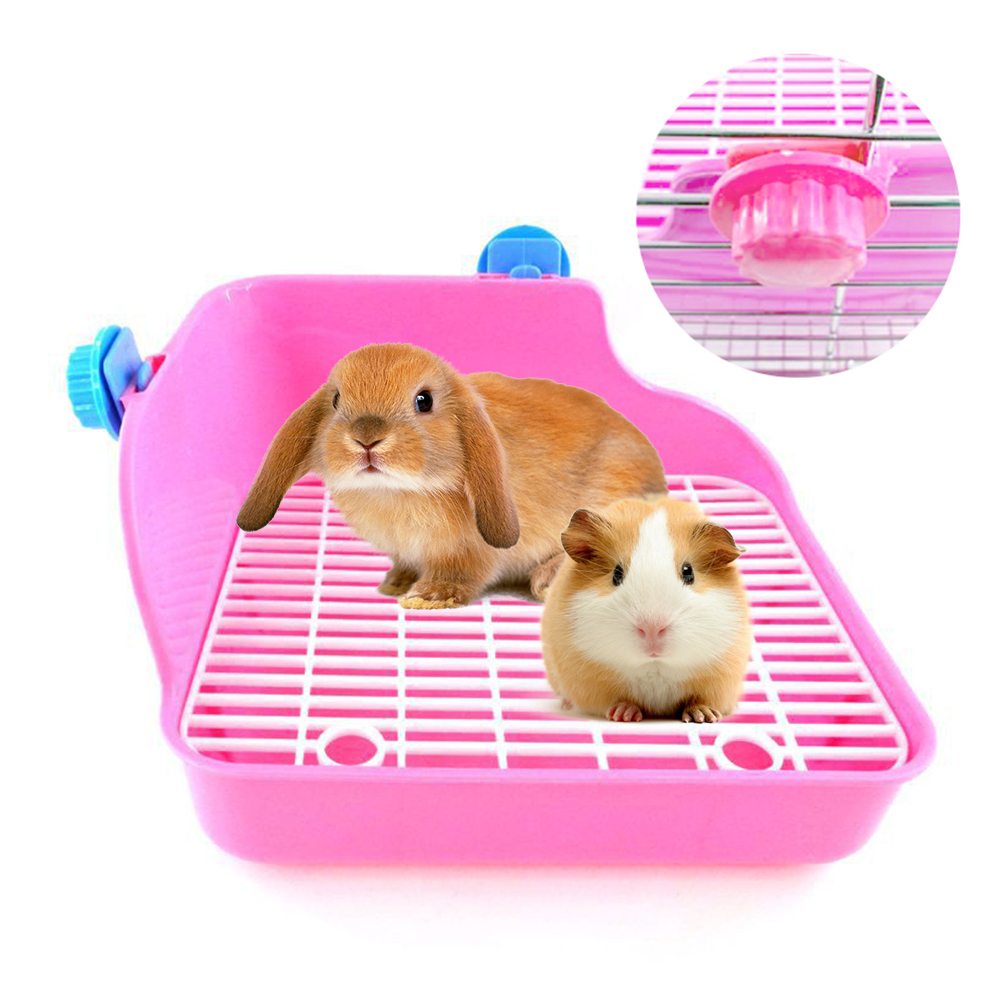 Pet Rabbit Chinchilla Guinea Pig Rabbit Lotus Pig Square Toilet Lace Big Rabbit Toilet