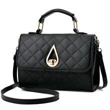 ACELURE Retro Women Handbag Purse Solid Color Ladies Crossbody Messenger Bags High Quality PU Leather Flap Ladies Shoulder Bag