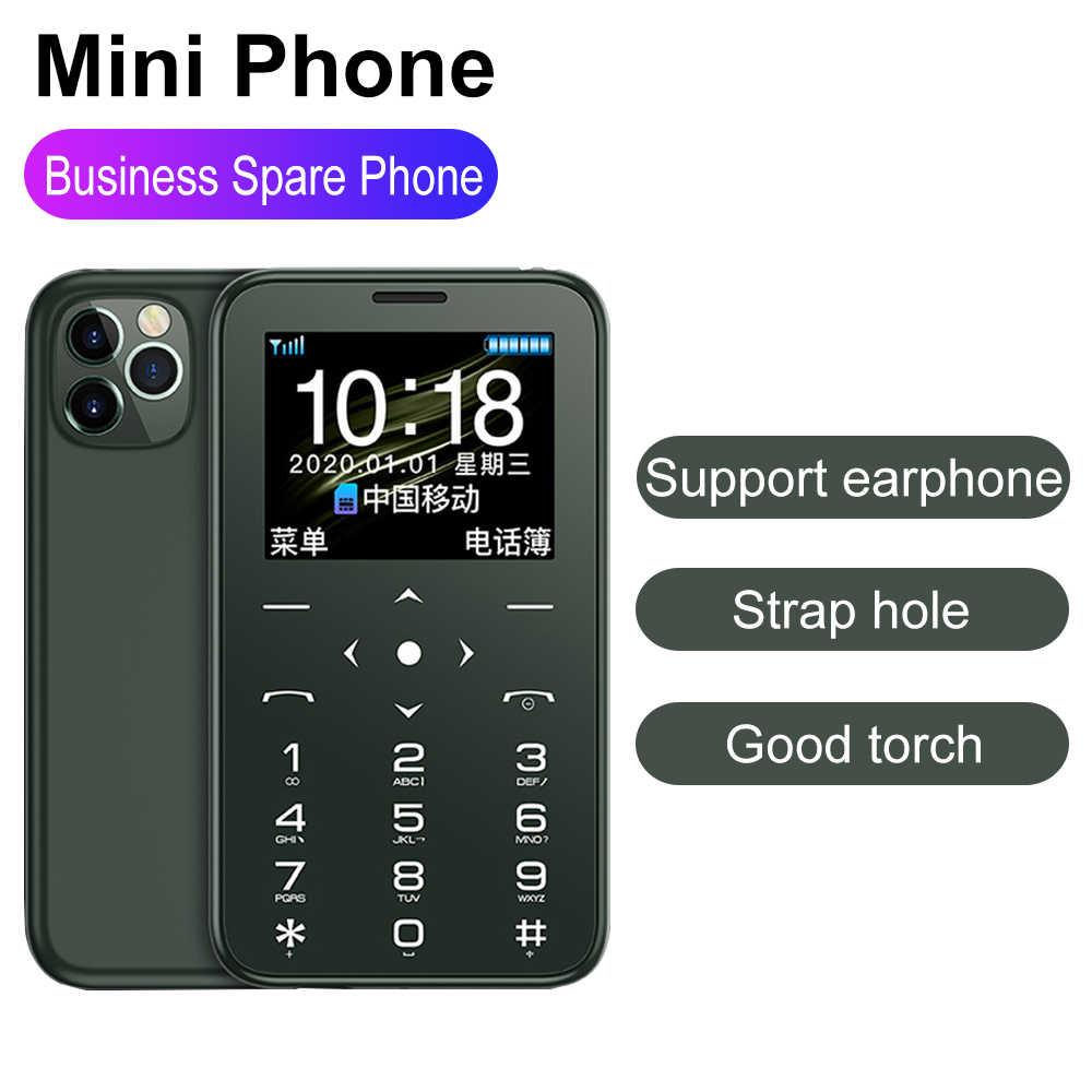 """Soyes Più 7S + Mini Telefoni Cellulari E Smartphone 1.5 """"IPS display A COLORI della Macchina Fotografica MP3 Hifi Suono Lungo Standby bluebooth GSM del telefono delle cellule Dei Capretti"""