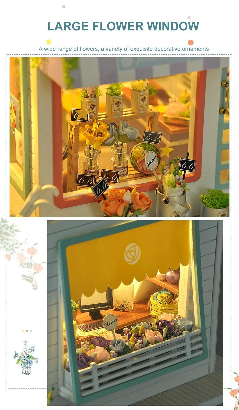 H049df357c3cc45e0ab229031836c29d5m - Robotime - DIY Models, DIY Miniature Houses, 3d Wooden Puzzle