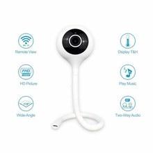 Wdskivi לזהות טמפרטורה ולחות 1080P מיני IP מצלמה אלחוטי WiFi מצלמה אבטחת מעקב CCTV מצלמה בייבי מוניטור