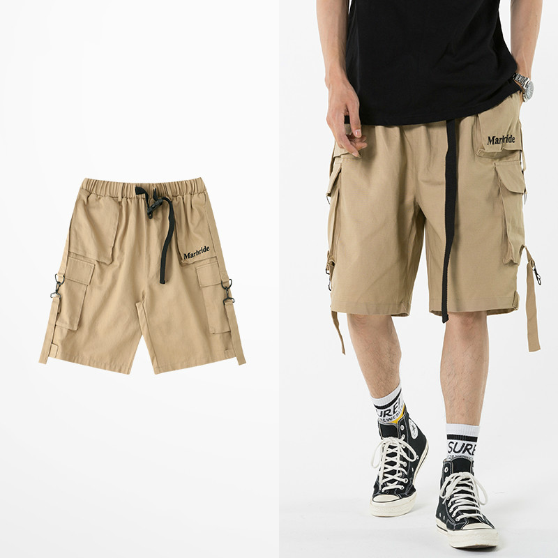 Fashion Ins Short Pants For Men And Women Tide Brand Hip Hop Japanese Style Cargo Shorts Male Retro Rock Punk Streetwear Shorts
