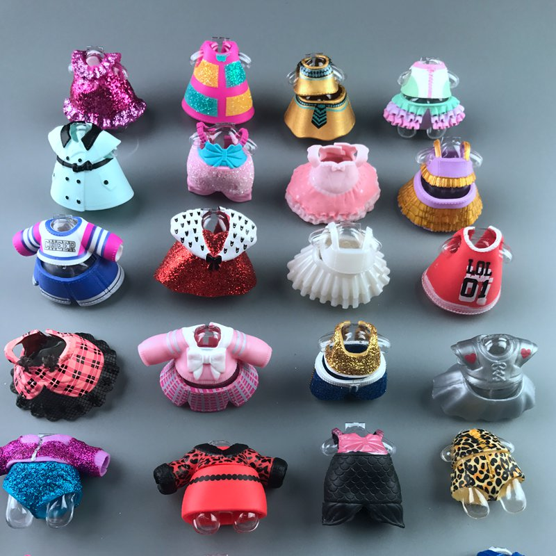 Series3/4/5 Original Lol Doll Clothes For DIY LoL Big Doll Figure Toy Accessories Toy Decorations Products