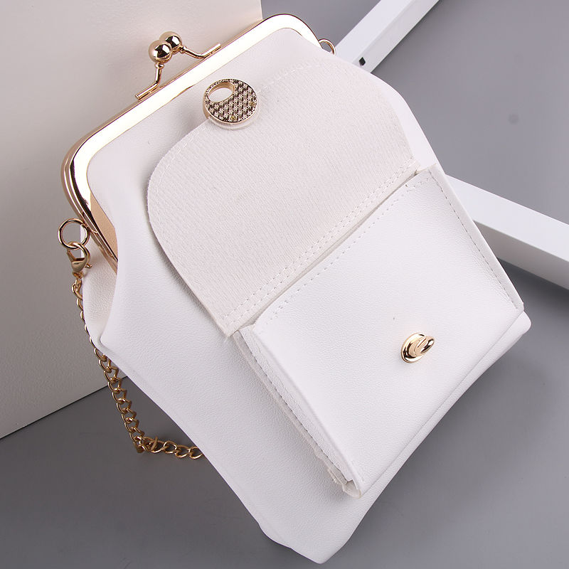 women`s handbags pu leather kiss lock shell bags (13)
