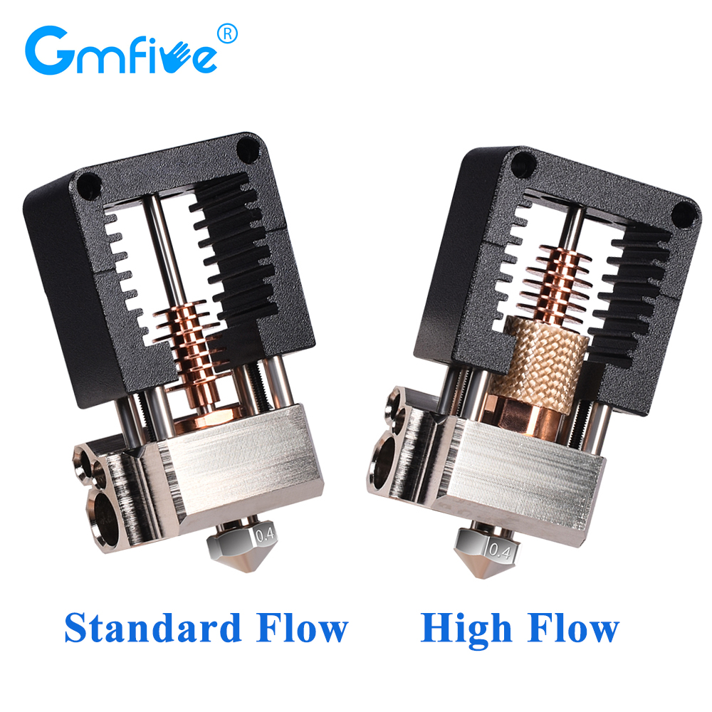 GmFive All Metal Clone Mosquito Hotend Kits Plated Copper Nozzle For Ender 3 CR10 I3 Mk3 Prusa Bmg Extruder 3d Printer Parts