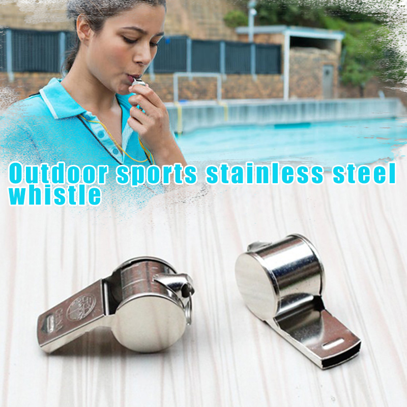 Referee Whistle Metal Whistle Stainless Steel Whistle Sports Whistle Durable And Lightweight YS-BUY