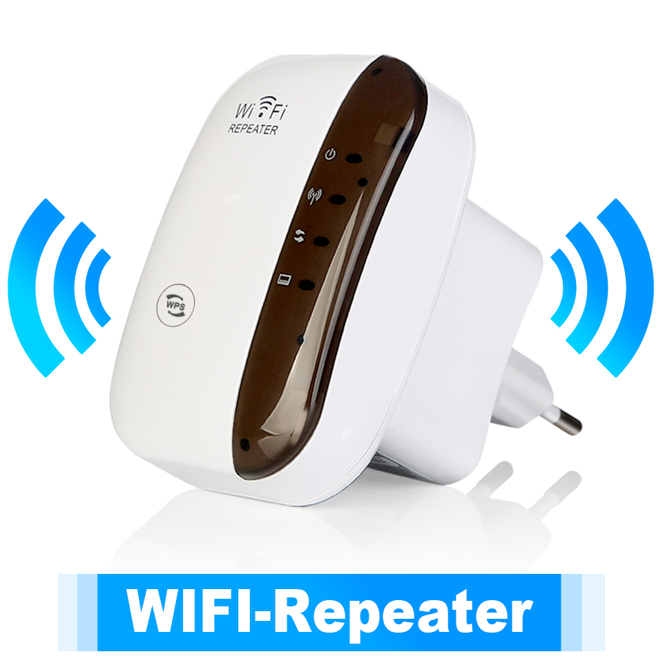 Wifi Amplifier Extender Fi-Booster Repiter Long-Range 300mbps Wireless 1