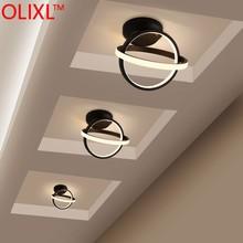 OLIXL Varable Light Modern LED Ceiling Ligjts For Corridor Aisle Minimalist Porch Entrance Hall Balcony LED Home Ceiling Lamp
