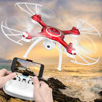 Txd-3s Unmanned Aerial Vehicle WiFi Real-Time Aerial Remote Control Aircraft Pressure Set High Quadcopter Airplane Model Toy