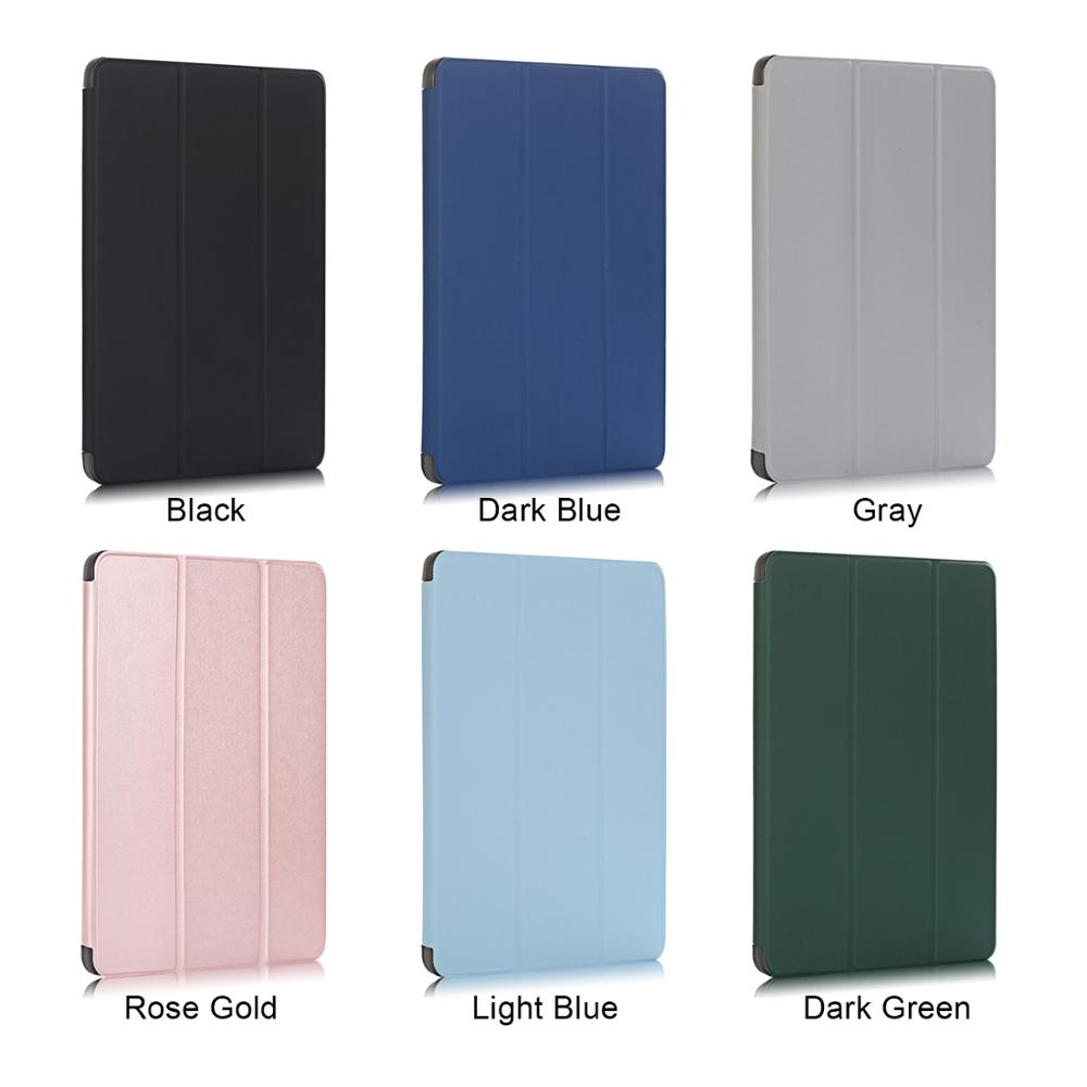 Tablet Case for iPad Pro 12 9 2020 Case Solid 12 9 Inch Smart Cover Funda