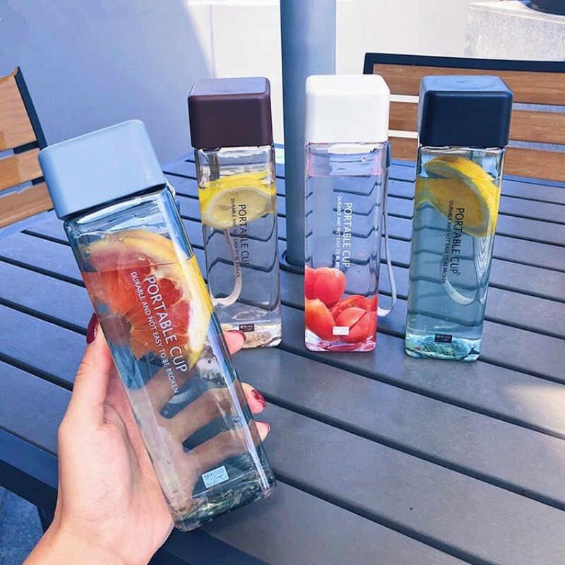 Portable Water Bottle Leak-proof Sports Outdoor Space Tea Juice Bottle Drinkware