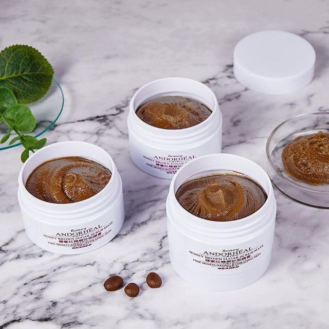 brown sugar honey  facial mask  korean make up  natural beauty products  face mask  clay mask  mask face  mud mask  skin care