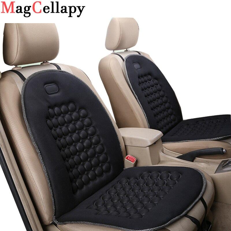 Cojín magnético para asiento de coche, masajeador Universal, esponja de masaje magnético para soporte de cintura