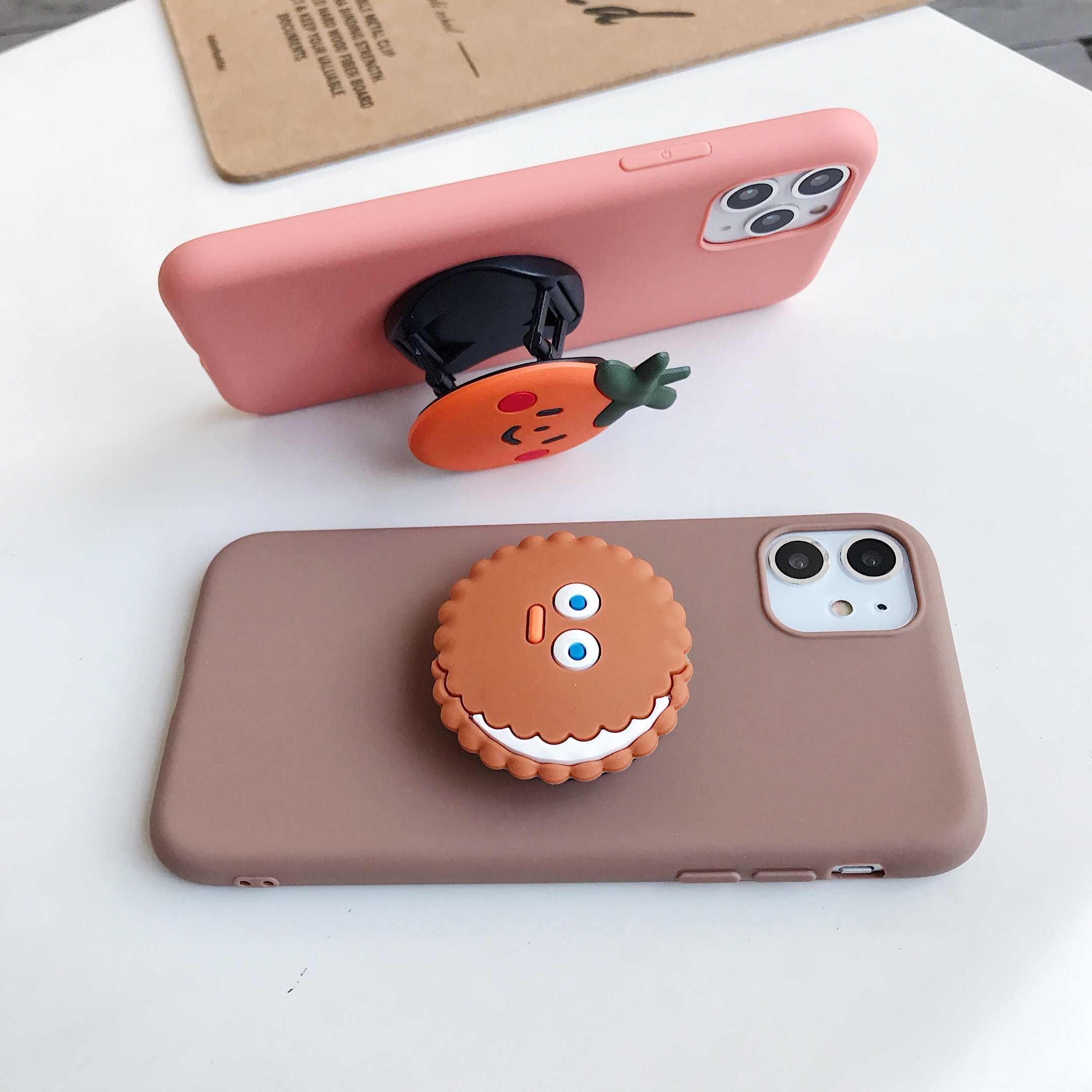Carino Fumetto Del Supporto Del Basamento Molle Del Telefono di Tpu per Il Caso di Xiaomi Redmi 5 Più di 6 6A 7A Y3 Y2 Y1 K20 s2 Andare Nota 4 4X5 5A 6 7 K20 Pro Caso
