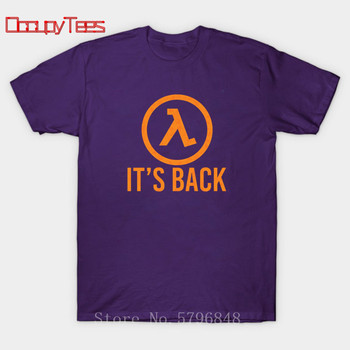 Half Life Game T Shirt Half Life 3 I Want To Believe T-Shirt 100 Percent Cotton Cute Tee Shirt Basic XXX Short Sleeve Man Tshirt 2