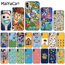 MaiYaCa Japan Korea CartoonToy Verhaal 4 Drie Ogen TPU Phone Case Cover voor Apple iphone 11 pro 8 7 66S plus X XS MAX 5S SE XR(China)