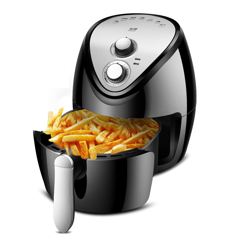 Air Fryer Home Intelligent Without Oil Smoke French Fries Machine Multicooker High Capacity Electric Fryer Airfryer For Kitchen