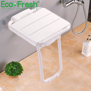 Wall Mounted Shower Seat shower folding seat for elderly toilet bath stool bathroom bench Cadeira for seniors and elders