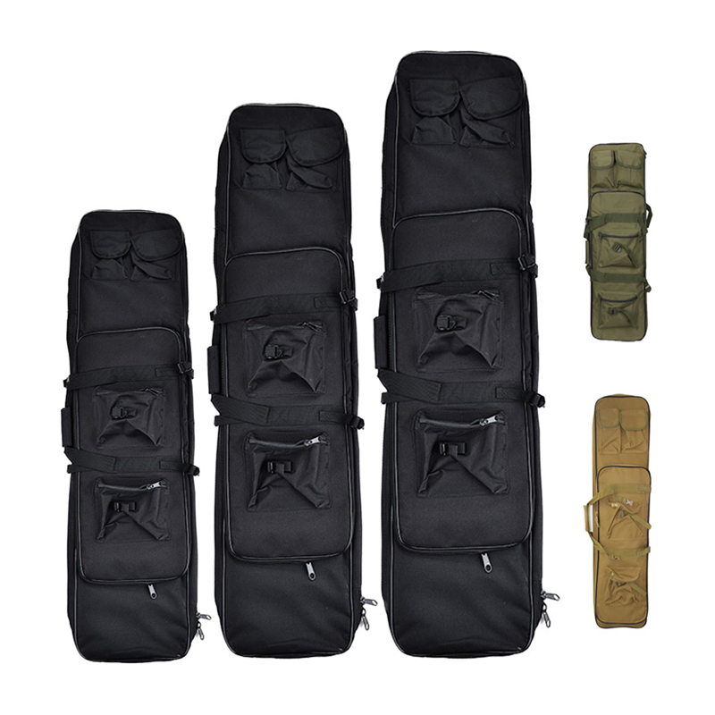 85 95 120cm Tactical Rifle Gun Bag Outdoor Hunting Airsoft Gun Carrier Protection Dual Rifle Storage Holster Case Soft Backpack
