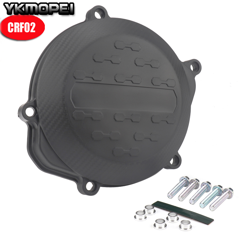 NEW Motorcycle Clutch Cover Protection Cover Fit For <font><b>CRF450R</b></font> CRF 450R 450 2009 <font><b>2010</b></font> 2012 2011 2013 2014 2015 2016 image