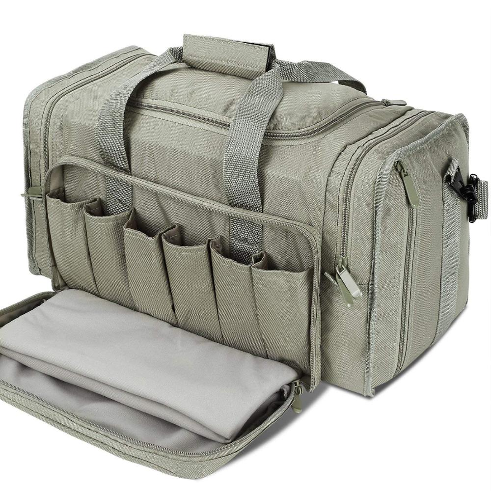 SoarOwl Range tactical Gun Bag  Shooting Series Package Outdoor Multi function Tactical Package Military Lockable Zipper Nylon|Hunting Bags| |  - title=