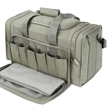 цена на SoarOwl Range tactical Gun Bag  Shooting Series Package Outdoor Multi-function Tactical Package Military Lockable Zipper Nylon