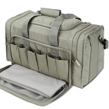 SoarOwl Range tactical Gun Bag Shooting Series Package Outdoor Multi-function Tactical Package Military Lockable Zipper Nylon