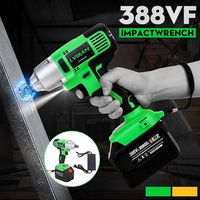 388VF 650Nm 1/2 Cordless Impact Electric Wrench Socket Power Tools Li ion Battery