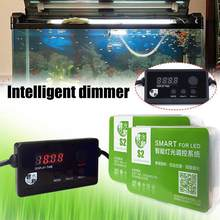 1 Pcs Aquarium Led Licht Dimmer Controller Modulator Verlichting Licht Lamp Dimmen Systeem Timing Aquarium Intelligente G3E2(China)