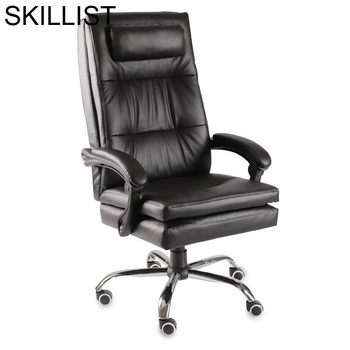 Ergonomic Cadeira Armchair Sillon Sedie Sedia Ufficio Furniture Taburete Gamer Leather Poltrona Silla Gaming Office Chair - discount item  28% OFF Office Furniture