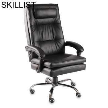 Ergonomic Cadeira Armchair Sillon Sedie Sedia Ufficio Furniture Taburete Gamer Leather Poltrona Silla Gaming Office Chair - DISCOUNT ITEM  27 OFF All Category