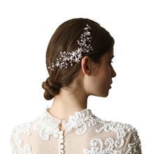Peine de pelo Vintage, accesorios para el cabello de boda para novia y dama de honor, aprox. 17 × 7 Cm