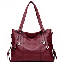 Hot Leather Luxury Handbags Women Bags Designer Ladies Cross