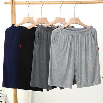 Homme Short Mens Jogging Casual Sweatpant Men Plus Size 6XL Breathable Home shorts Beach Solid Cotton Shorts Men Striped Panties 1