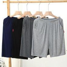 Мужские короткие мужские беговые кроссовки на каждый день спортивные штаны для мужчин размера плюс 6XL дышащие Домашние Шорты пляжные хлопк...