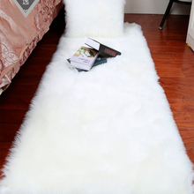 Bedroom Carpet Cushion Sofa Bedside Window Long-Hair Soft White Plush European Bay Imitation-Wool-Pad