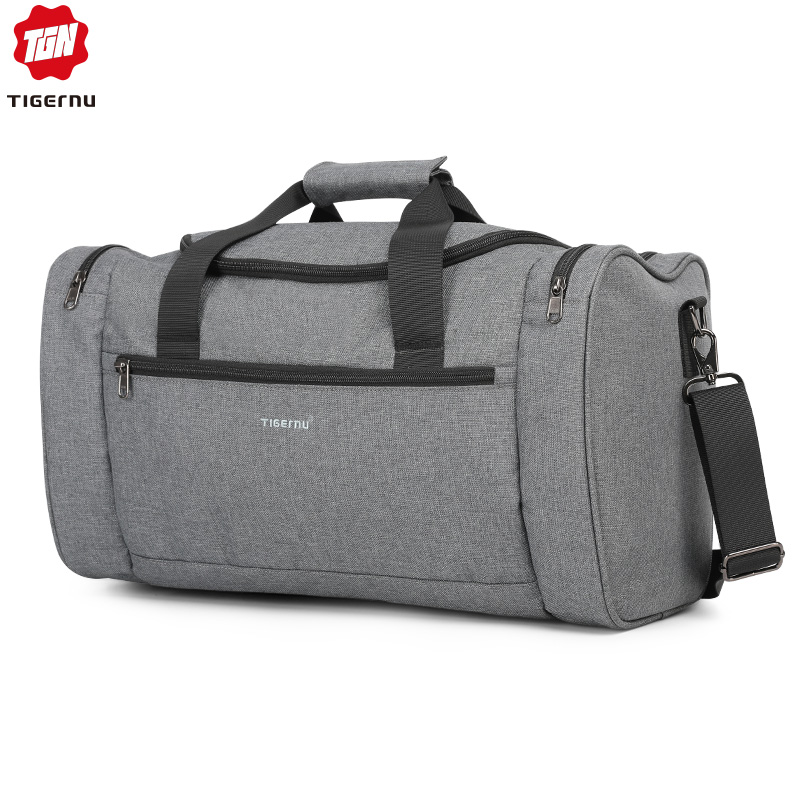 Tigernu 2019 Travel Bags Spalshproof Large Capacity Fashion Duffle Bag Hand Luggage Traveling Handbags For Men Women Casual Male