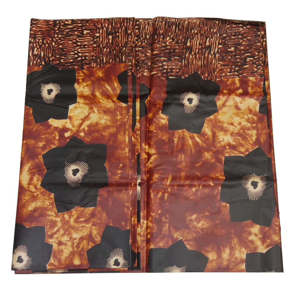 New Fashion Design African Novel Pattern Printing Bazin Riche Getzner Fabric 5 Yards\lot