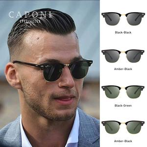 Image 4 - CAPONI Polarized Sunglasses Men Women Popular Brand Classic Design Sun Glasses Coating Lens Shade Fashion Girls Eyewear CP3101