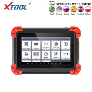 Image 2 - X100 PAD מקצועי מפתח מתכנת OBD2 אבחון סורק רכב קוד קורא רב שפה עם EEPORM עדכון באינטרנט