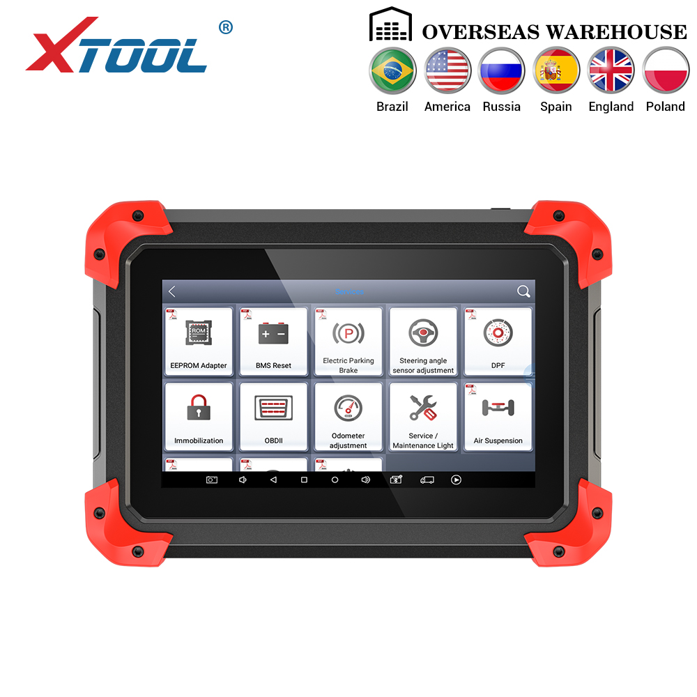 X100 PAD Professional Key Programmer OBD2 Diagnostic Scanner Automotive Code Reader Multi-Language With EEPORM Update Online