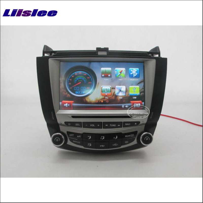 Liislee For <font><b>Honda</b></font> <font><b>Accord</b></font> ( 1 A/C ) <font><b>2003</b></font>~2007 Car DVD Player GPS NAVI Radio TV BT Touch Screen Audio <font><b>Stereo</b></font> Navigation System image