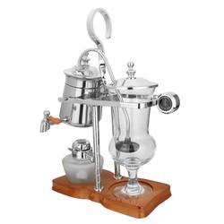 Siphon Coffee Maker Stainless Steel Belgian Belgium Royal Balance Syphon Coffee Maker Brewer Tea Pot Coffee Machine Filter Set