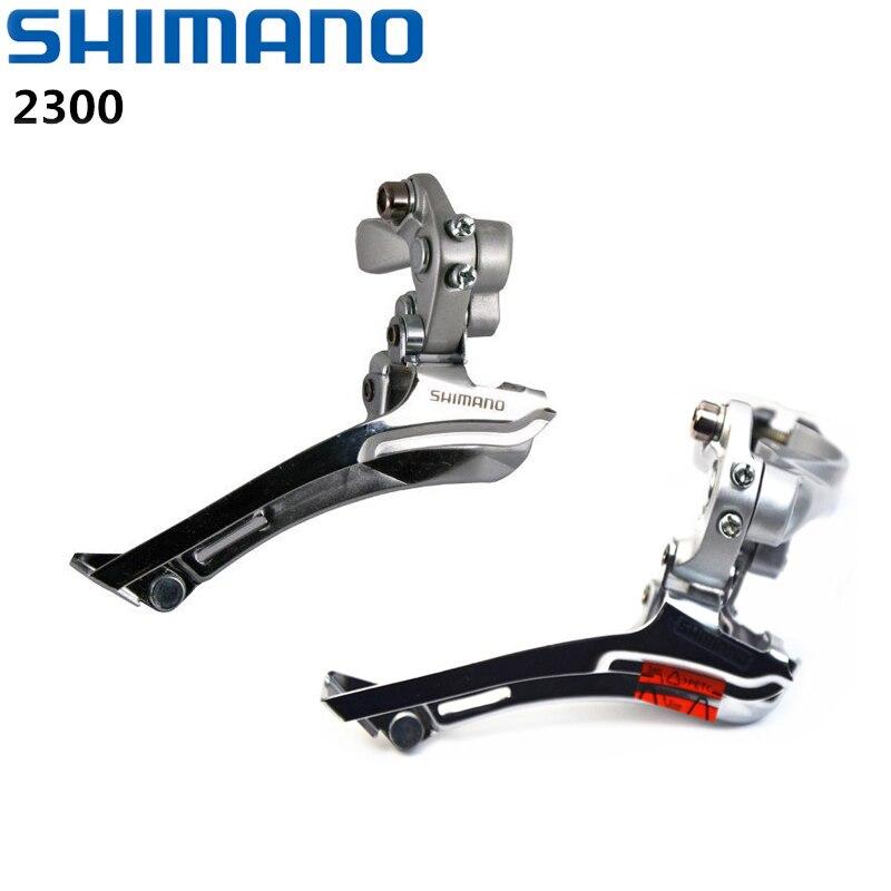 Велосипедный передний переключатель SHIMAN0 Claris, 2x7 или 2x8 скоростей, 31,8 мм, серебристый, 2300