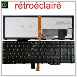 Новая Французская клавиатура с подсветкой клавиатура Azerty для Lenovo ThinkPad W540 W541 W550s T540 T540p T550 L540 край E531 E540 L570 0C44913 FR