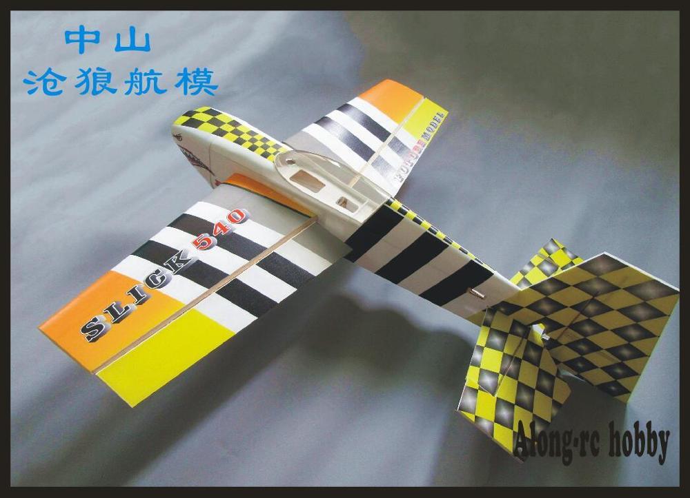 """Будущее PP материал самолет RC 3D модель ру аэроплана хобби размах крыльев 3"""" 15E slick540 SLICK 3D самолет комплект или PNP Набор 04A 04B цвет"""