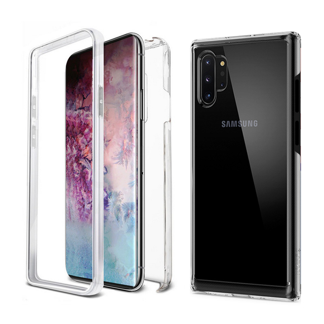 360 Full Protective Case For Samsung Note 10 Plus S10 S8 S9 A20E A70 A90 A50 A9 2018 Shockproof Cover Built in Screen Protector