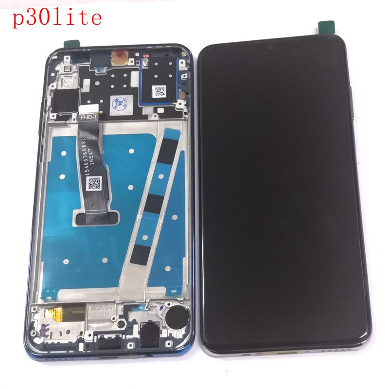 "6.15""For Huawei P30 lite MAR-L29 MAR-L09 MAR-AL00 MAR-TL00 Lcd Screen Display+Touch Glass Digitizer Frame Assembly p30lite lcd"