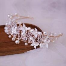 Модные свадебные аксессуары головные уборы ручной работы с кристаллами